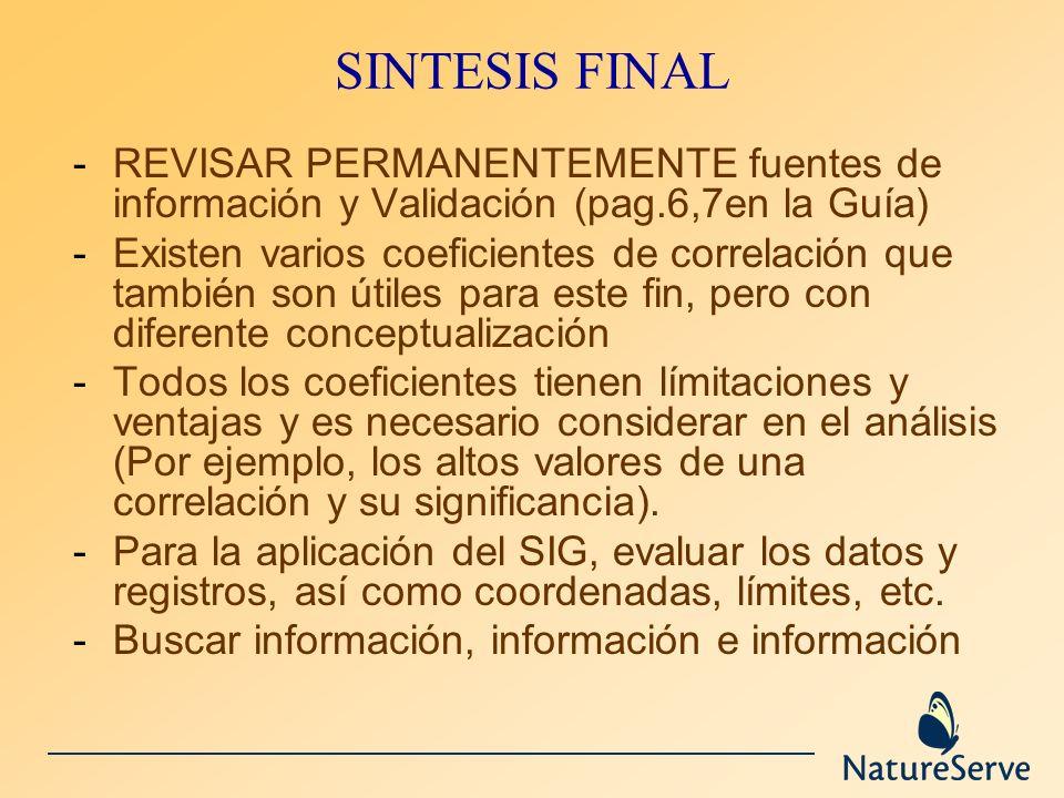 SINTESIS FINALREVISAR PERMANENTEMENTE fuentes de información y Validación (pag.6,7en la Guía)