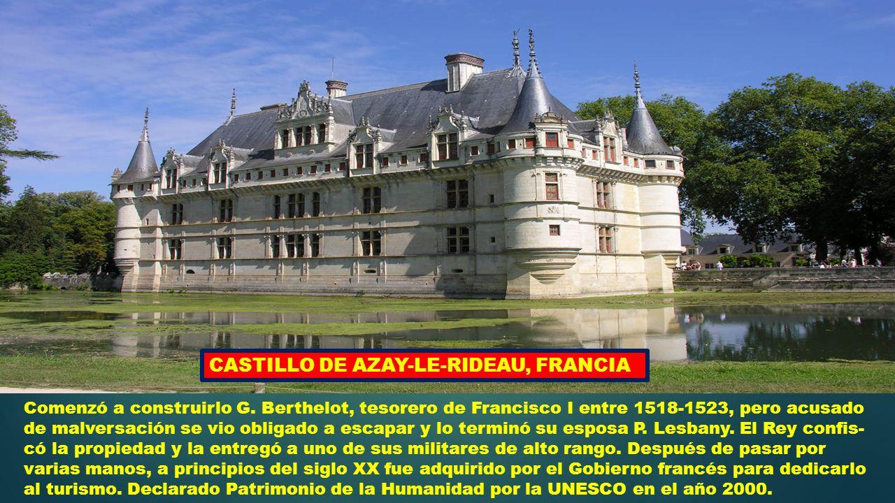 Un recorrido por los principales castillos de europa ppt video online descargar - Castillo de azay le rideau ...