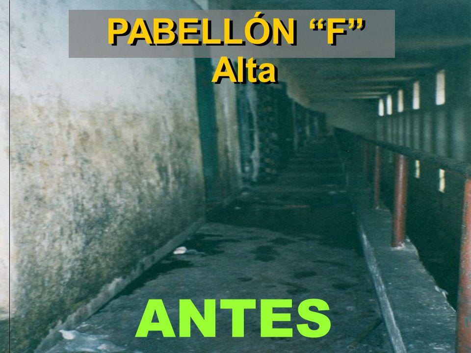 PABELLÓN F Alta ANTES