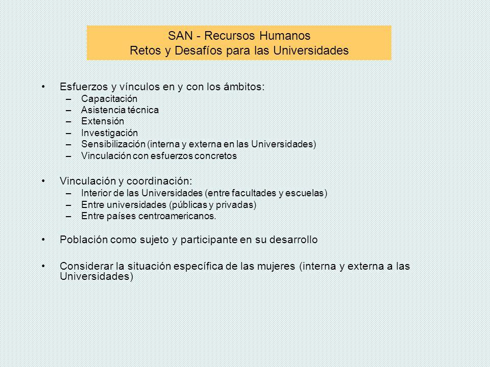 SAN - Recursos Humanos Retos y Desafíos para las Universidades