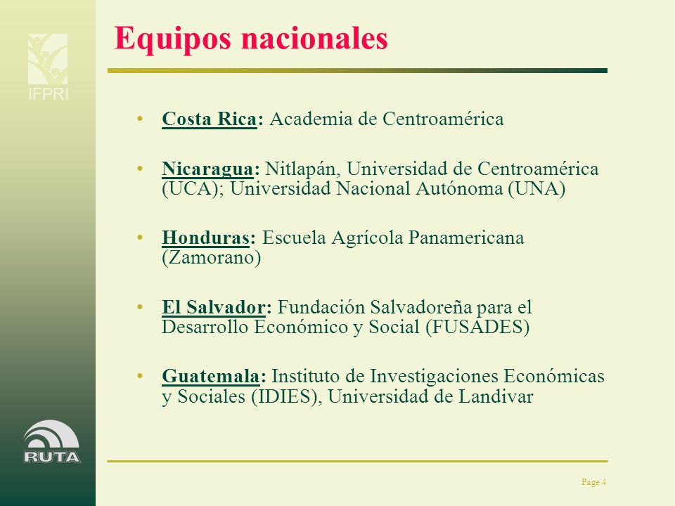 Equipos nacionales Costa Rica: Academia de Centroamérica