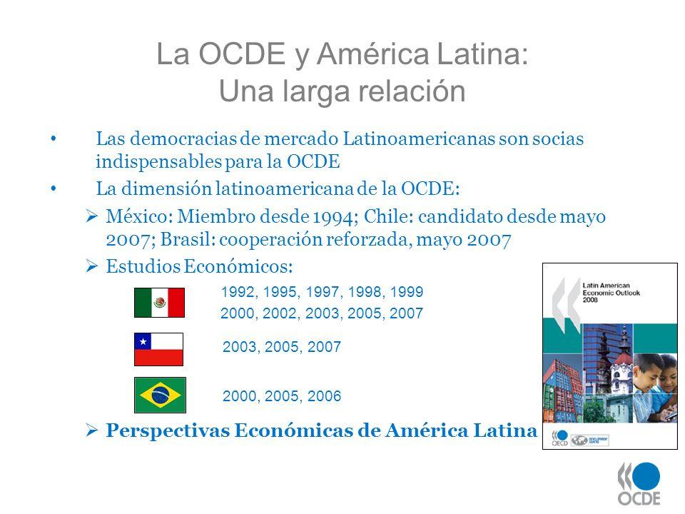 La OCDE y América Latina: