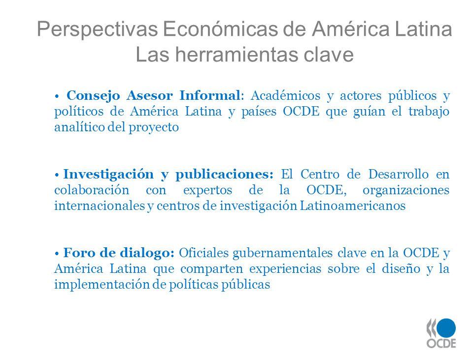 Perspectivas Económicas de América Latina Las herramientas clave