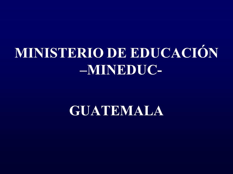 Ministerio de educaci n mineduc ppt descargar for Ministerio de educacion plazas