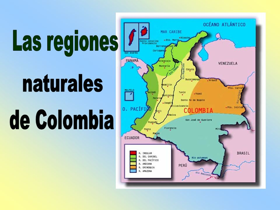 Las regiones naturales de Colombia. - ppt video online ...