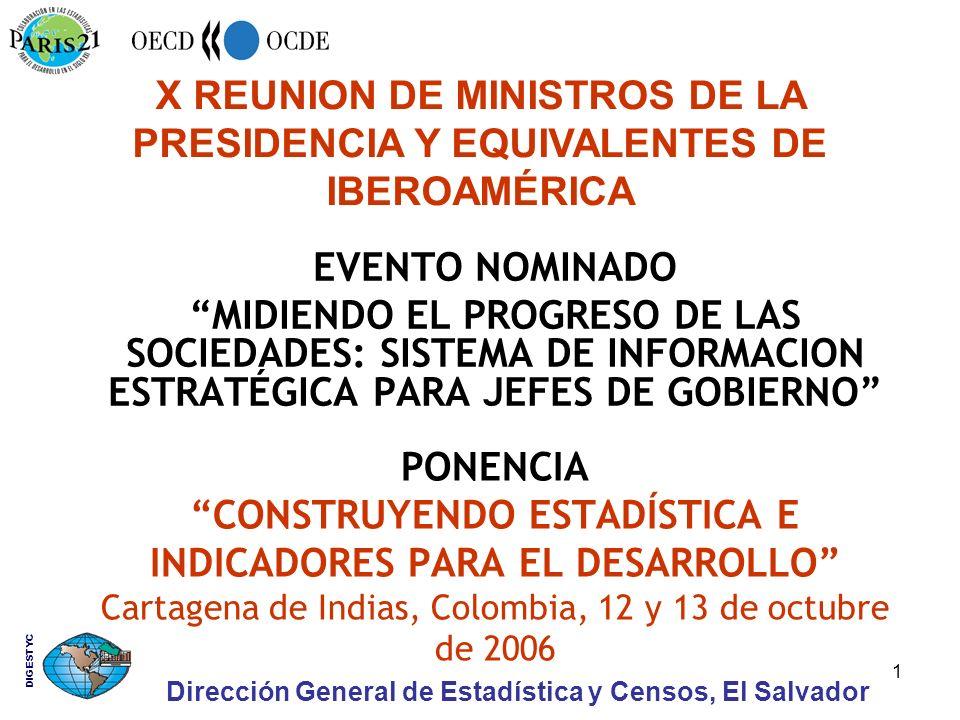 Dirección General de Estadística y Censos, El Salvador