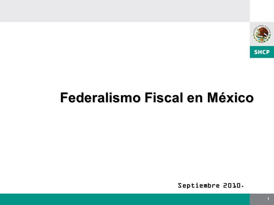 Federalismo Fiscal en México