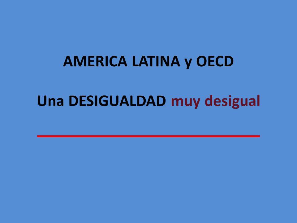 AMERICA LATINA y OECD Una DESIGUALDAD muy desigual