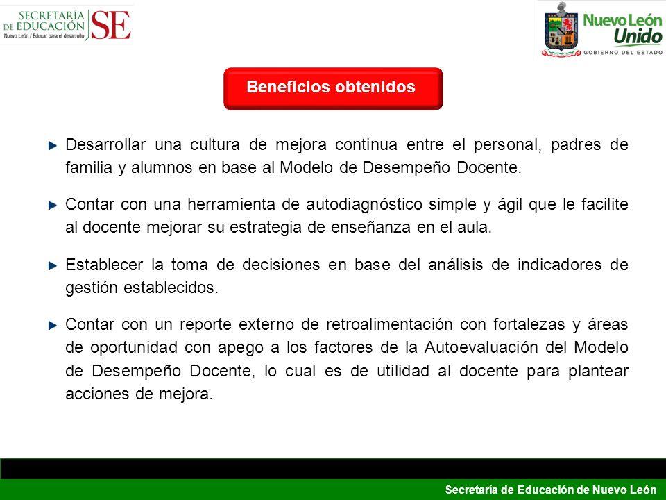 Beneficios obtenidosBeneficios.