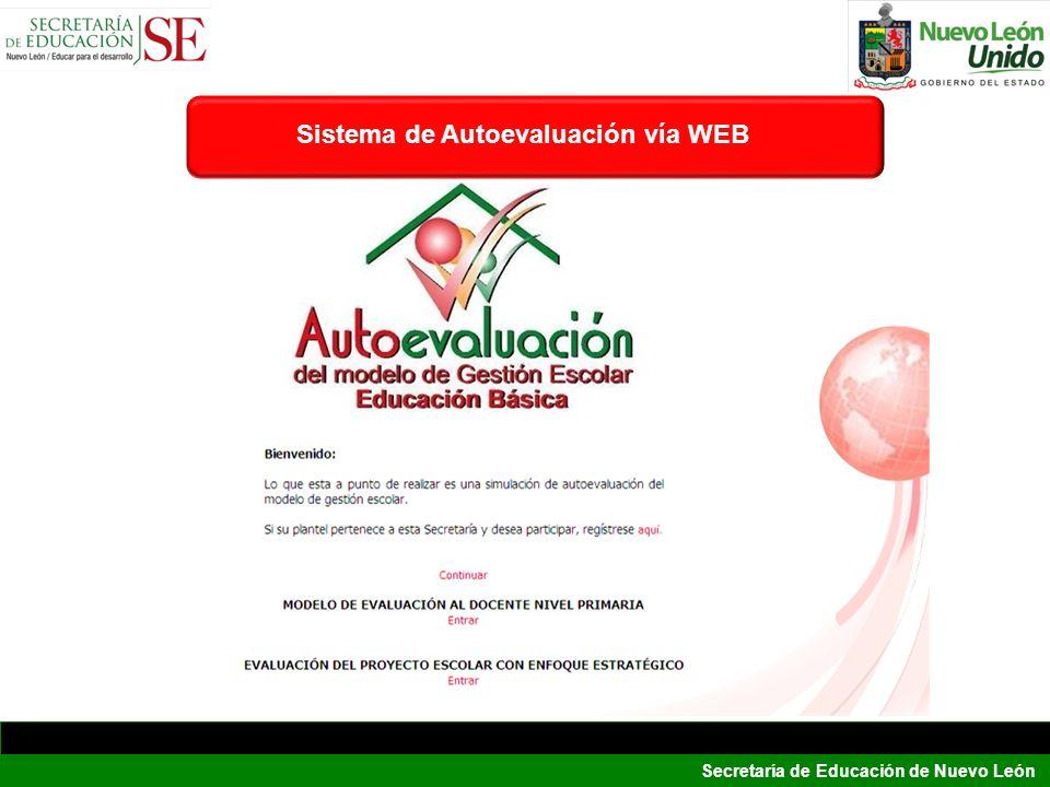Sistema de Autoevaluación vía WEB
