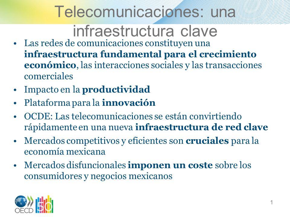 Telecomunicaciones: una infraestructura clave