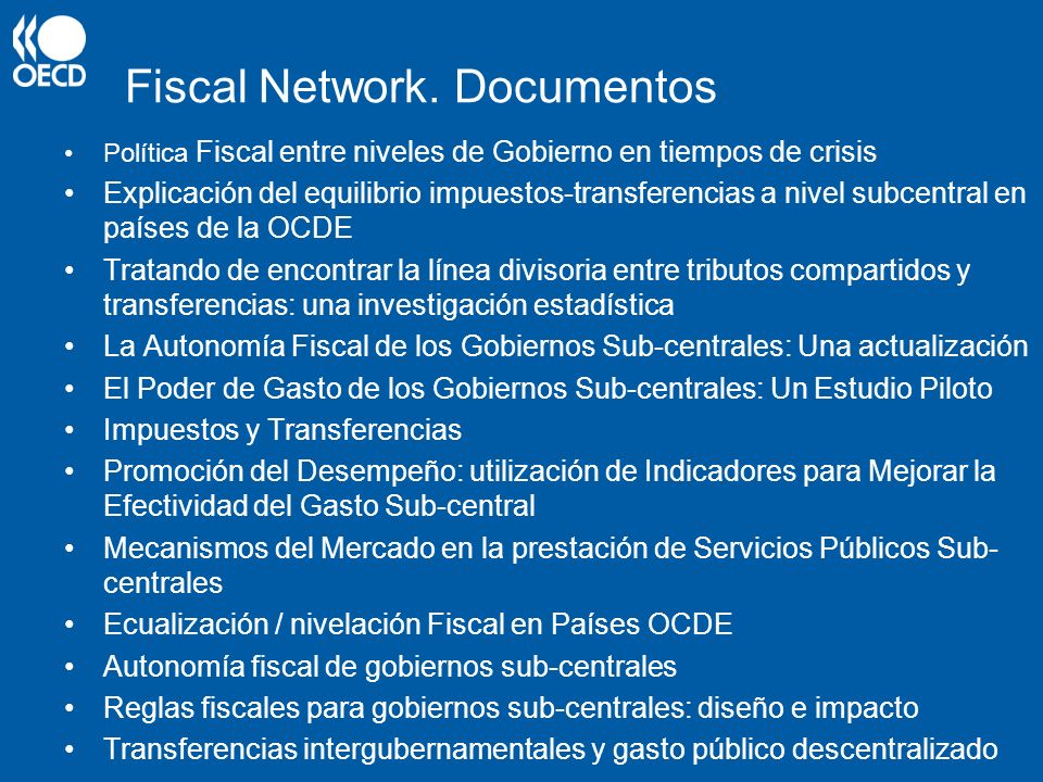 Fiscal Network. Documentos