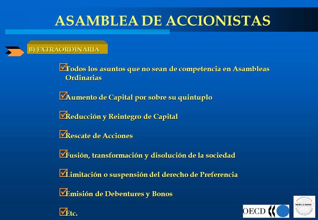 ASAMBLEA DE ACCIONISTAS