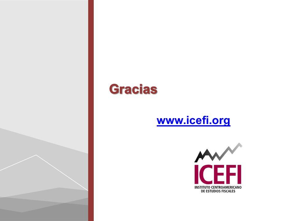 Gracias www.icefi.org