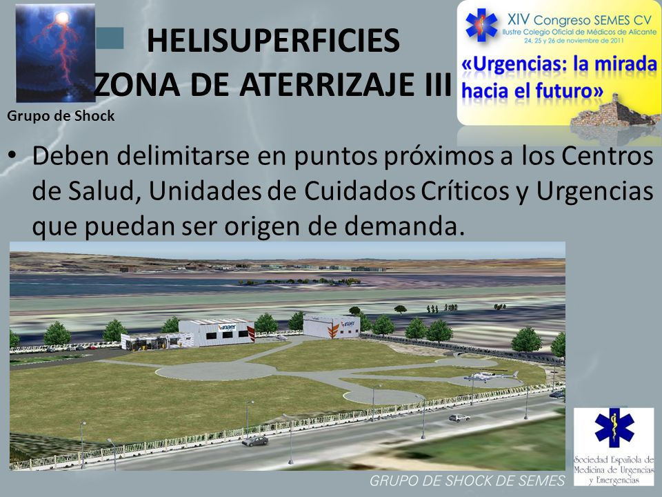 HELISUPERFICIES ZONA DE ATERRIZAJE III