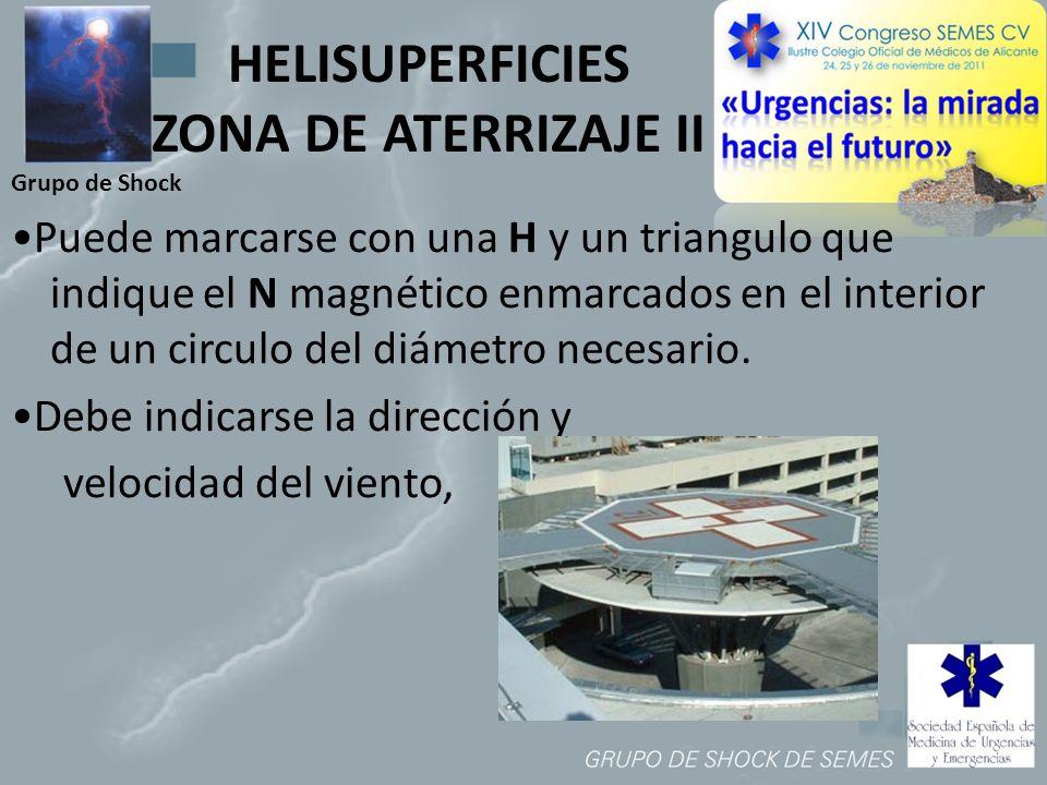 HELISUPERFICIES ZONA DE ATERRIZAJE II
