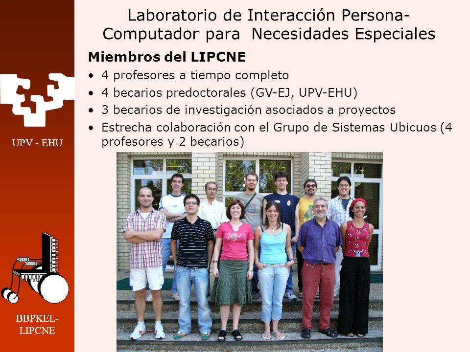 Laboratorio de Interacción Persona-Computador para Necesidades Especiales