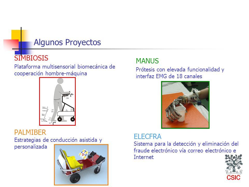 Algunos Proyectos SIMBIOSIS MANUS