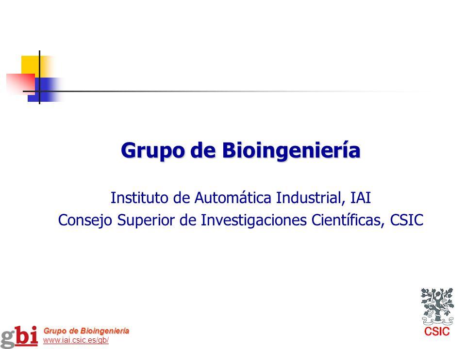 Grupo de Bioingeniería