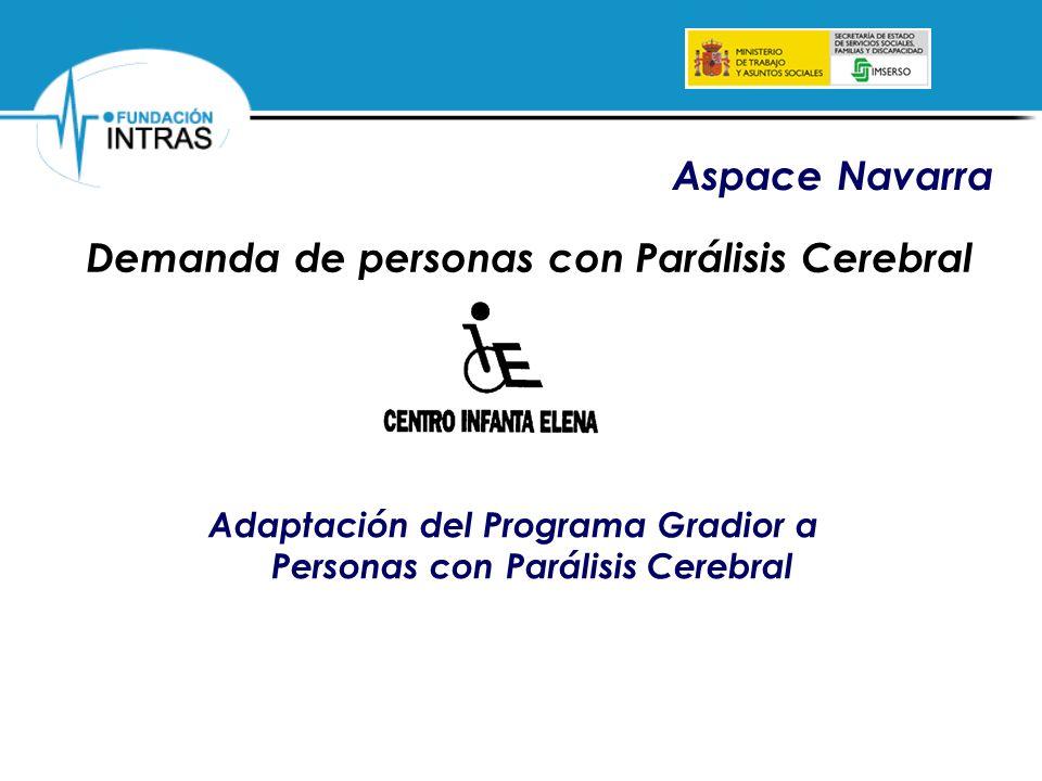 Aspace Navarra Demanda de personas con Parálisis Cerebral