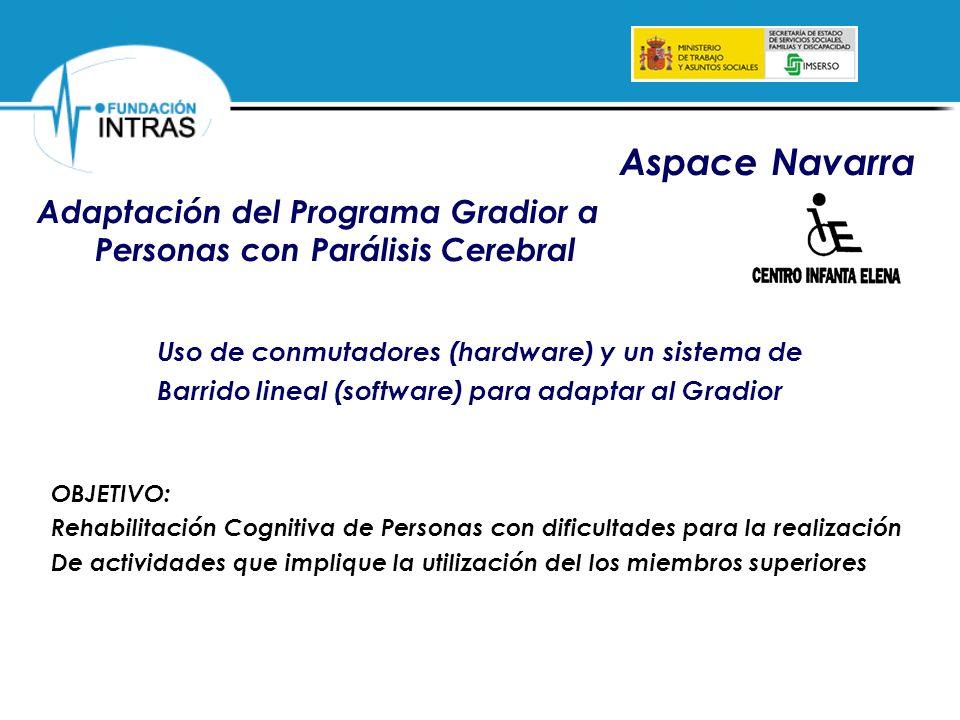 Adaptación del Programa Gradior a Personas con Parálisis Cerebral