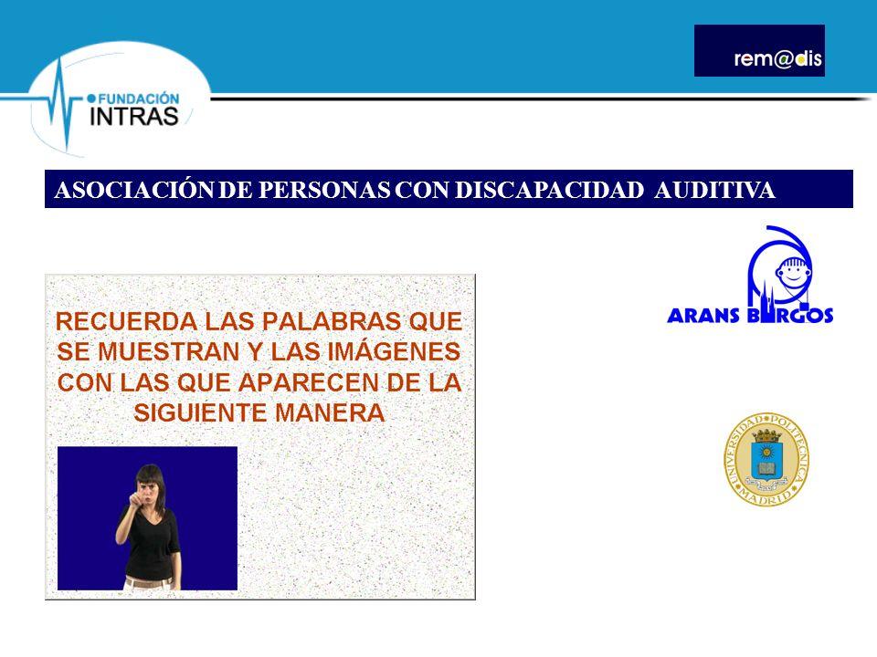 ASOCIACIÓN DE PERSONAS CON DISCAPACIDAD AUDITIVA