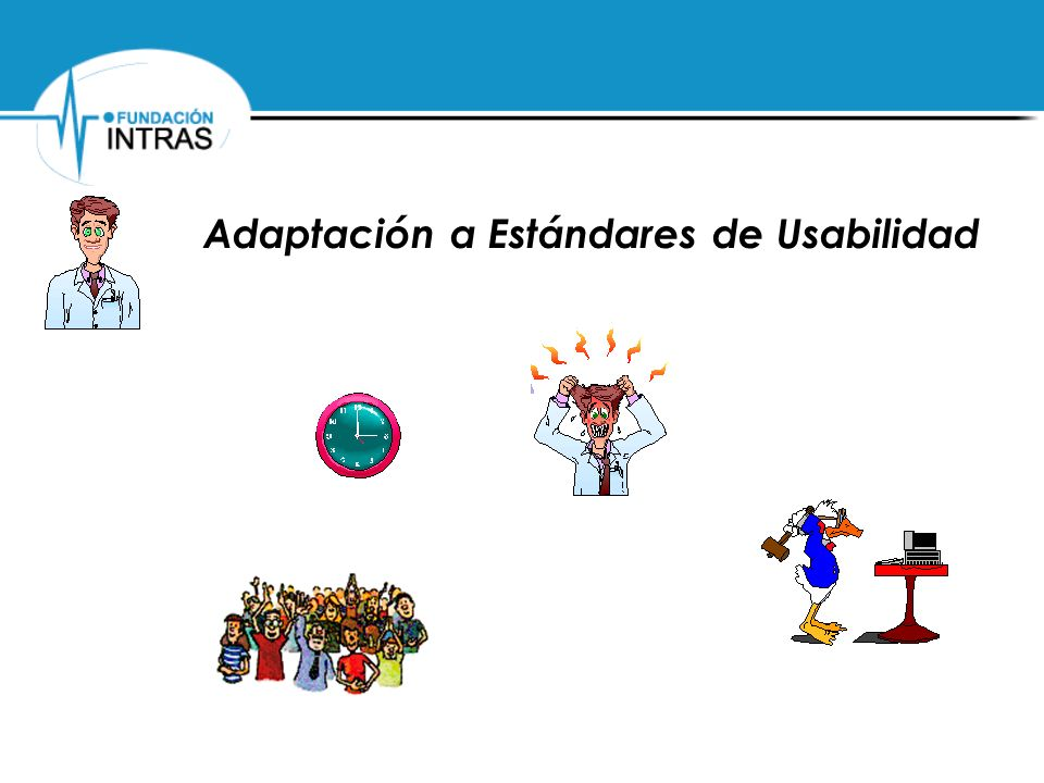 Adaptación a Estándares de Usabilidad