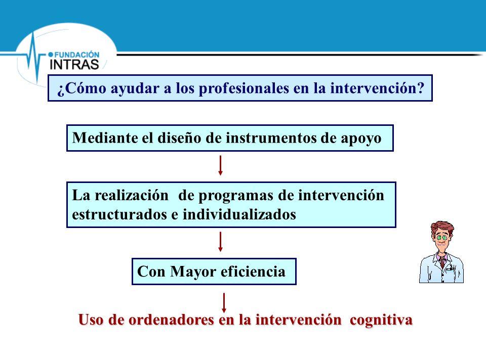 ¿Cómo ayudar a los profesionales en la intervención