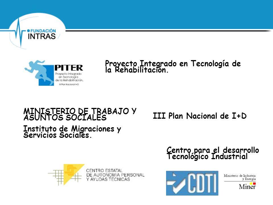 Proyecto Integrado en Tecnología de la Rehabilitación.