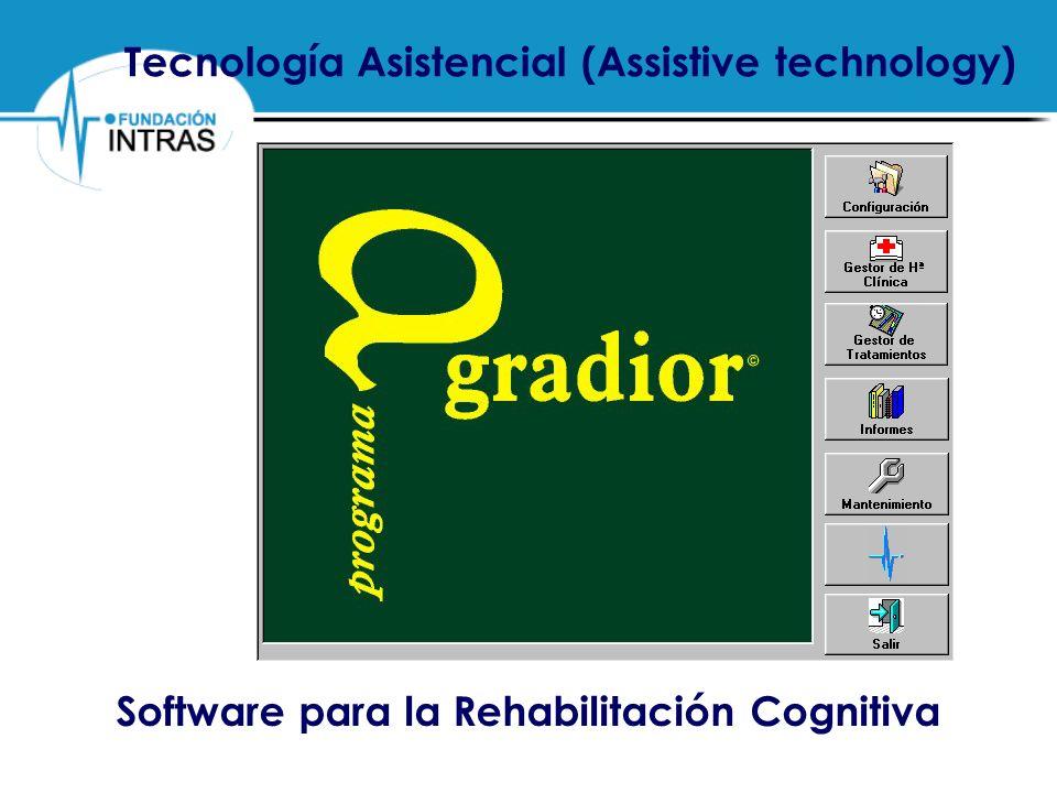 Tecnología Asistencial (Assistive technology)