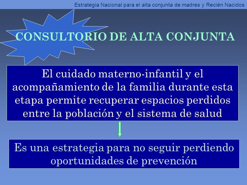 CONSULTORIO DE ALTA CONJUNTA