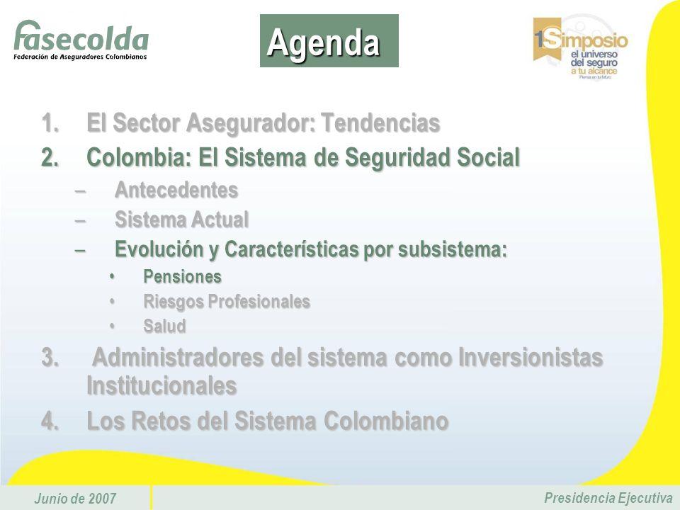 Agenda El Sector Asegurador: Tendencias