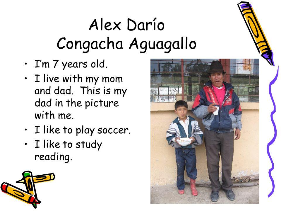 Alex Darío Congacha Aguagallo