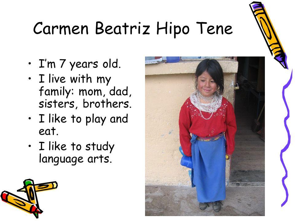 Carmen Beatriz Hipo Tene