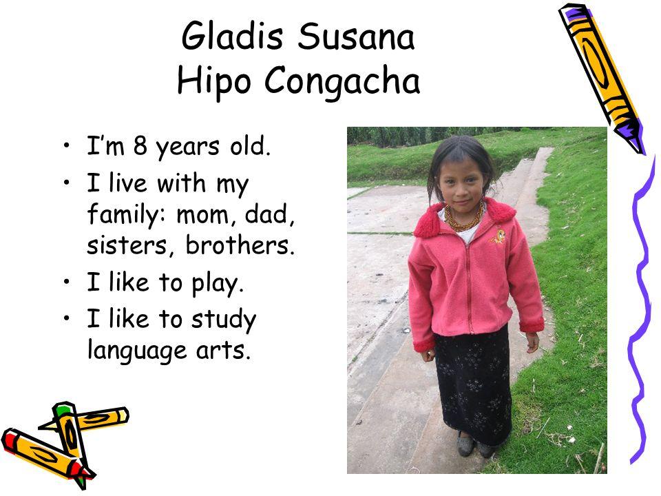 Gladis Susana Hipo Congacha