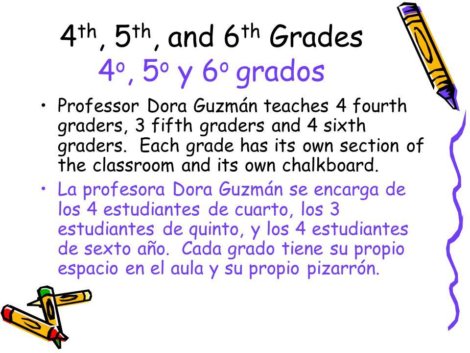 4th, 5th, and 6th Grades 4o, 5o y 6o grados