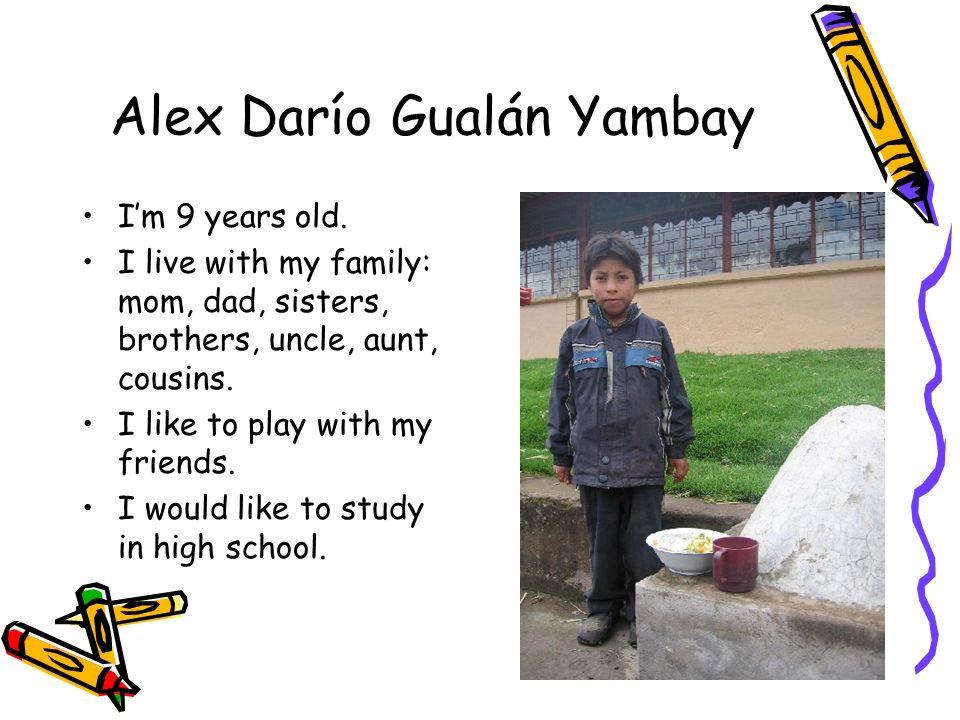 Alex Darío Gualán Yambay