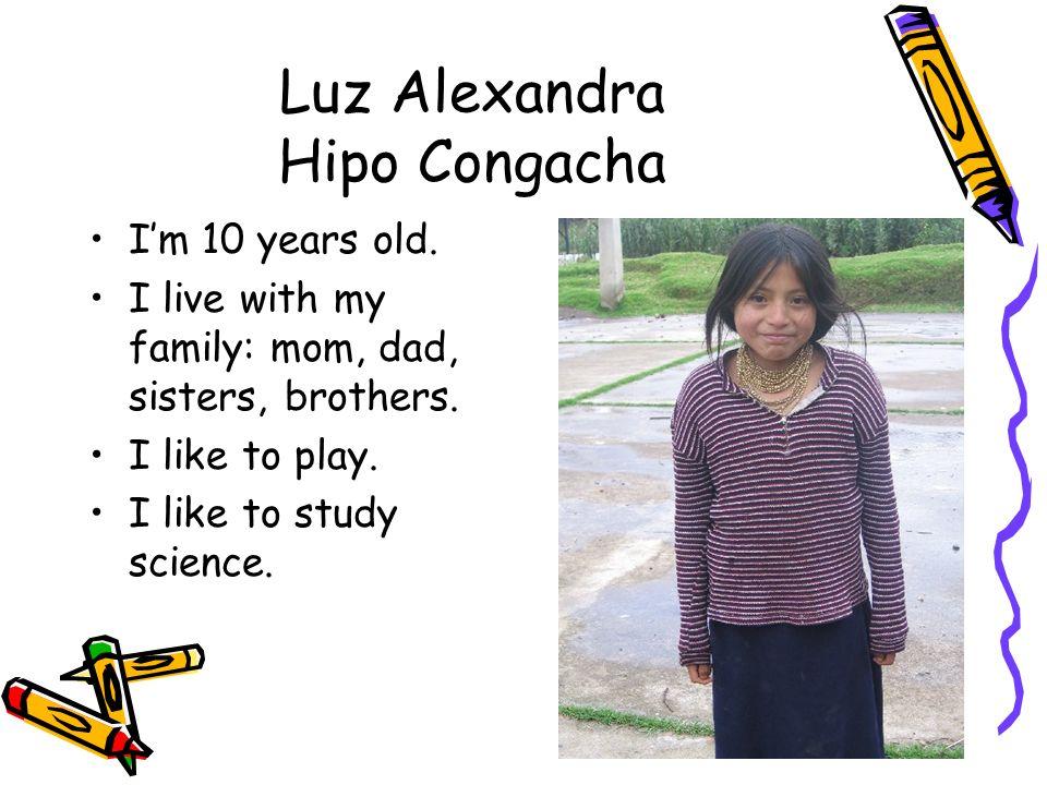 Luz Alexandra Hipo Congacha