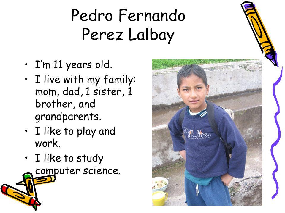 Pedro Fernando Perez Lalbay