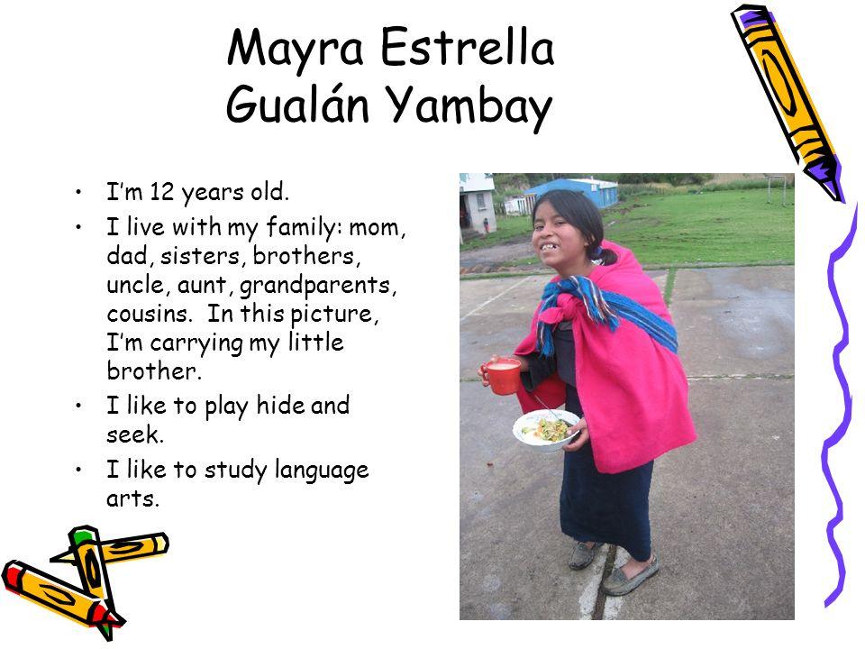 Mayra Estrella Gualán Yambay