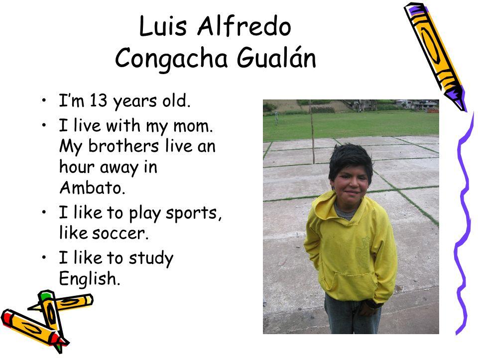Luis Alfredo Congacha Gualán