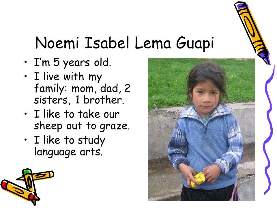 Noemi Isabel Lema Guapi