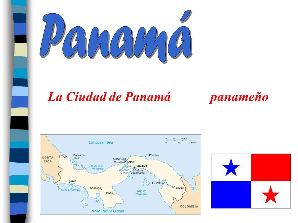 Panamá La Ciudad de Panamá panameño