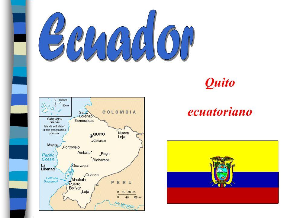 Ecuador Quito ecuatoriano