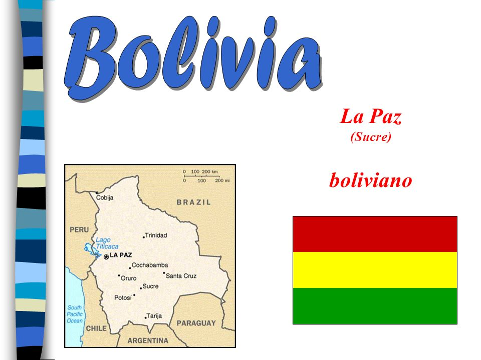 Bolivia La Paz (Sucre) boliviano