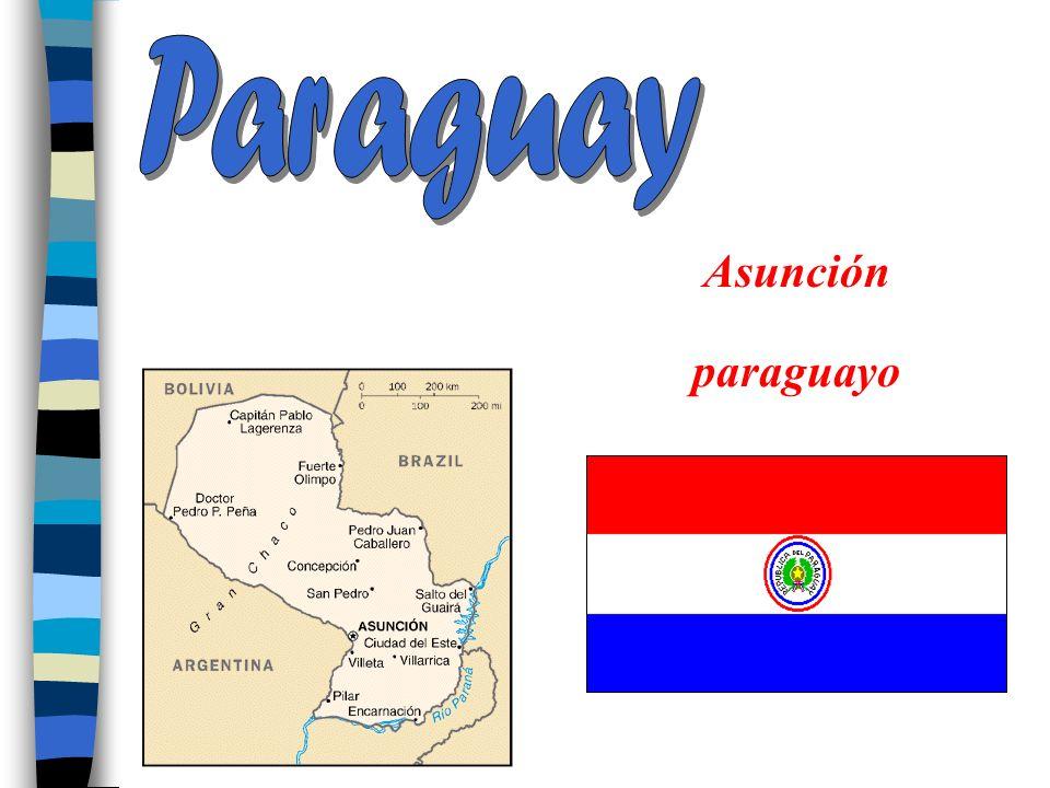 Paraguay Asunción paraguayo