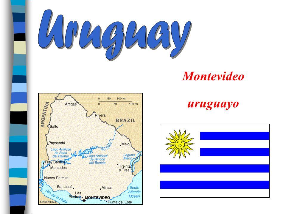 Uruguay Montevideo uruguayo