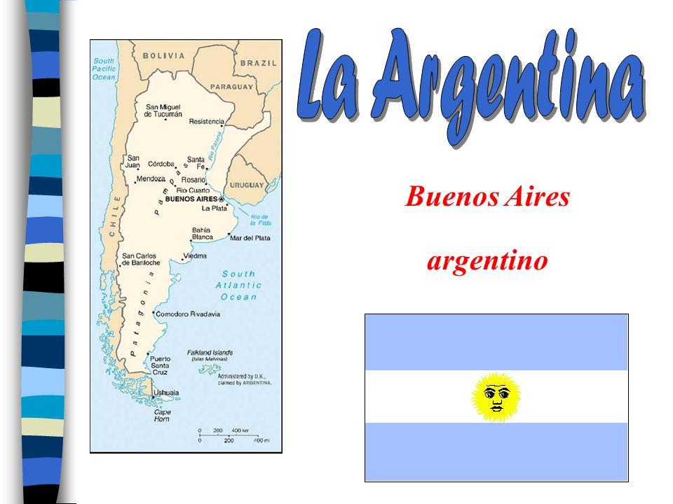La Argentina Buenos Aires argentino