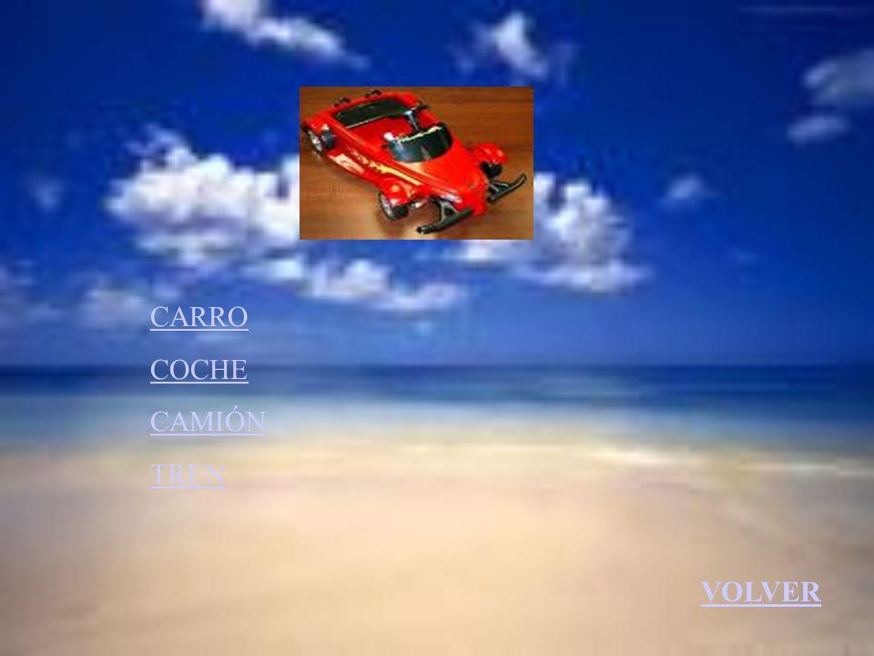 CARRO COCHE CAMIÓN TREN VOLVER