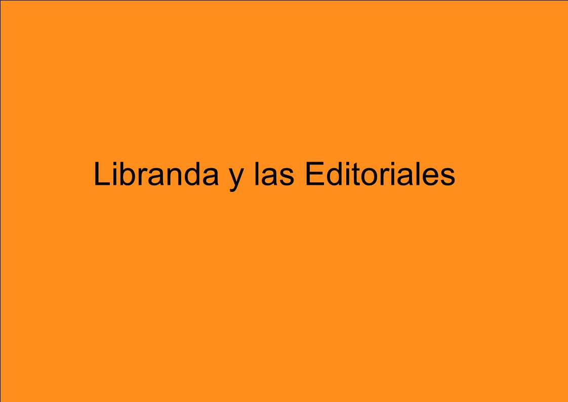 Libranda y las Editoriales
